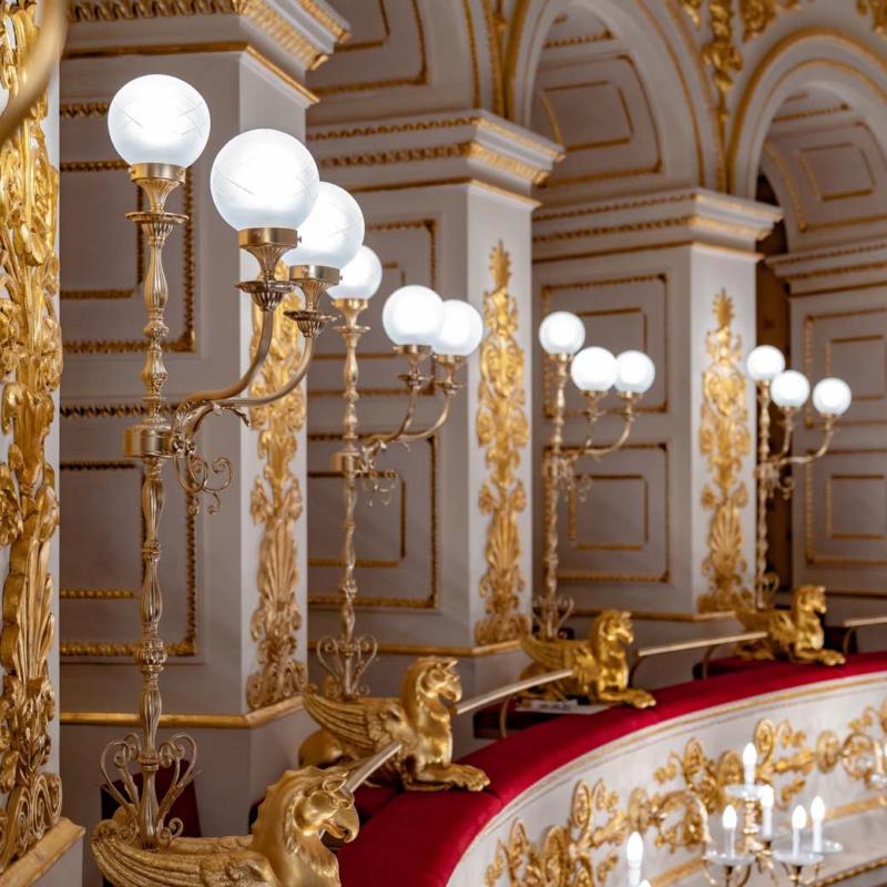 Multiforme lampy ścienne   żyrandol lampa wiszące Galli Theater Rimini Warsaw Design Salon Warszawa