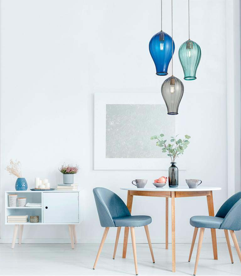 Zafferano lampa szklana   wisząca baloon Warsaw Design Salon Warszawa