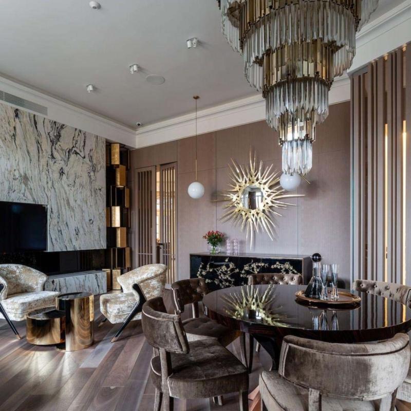 byKOKET salon jadalnia krzesla   fotele lampy Warsaw Design Salon Warszawa