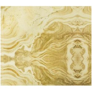 SMOKED HONEY SURFACE panel dekoracyjny ścienny aluminiowy aluminium kolor biały, żółty, beżowy