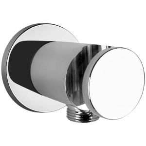 Gessi CONO SHOWER 45161 Uchwyt sluchawki prysznicowej z przylaczem 1 2 wiele kolorow 031 Chrom 149 Finox 279 Biały CN 299 Czarny XL 706 Czarny Metal PVD 030 Miedź PVD 707 Czarny metal szczotkowany PVD