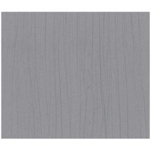 Marburg Domotex  30905  Tapeta pionowe nieregularne prążki srebrny połysk szary stalowy wypukłe prążki tapeta o szerokości 75 cm  i długości 10 m  tekstylna winylowa