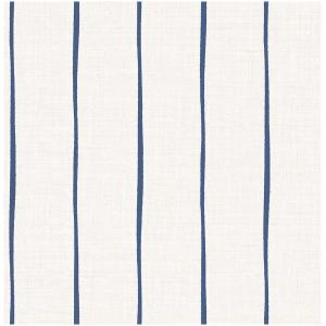 Wallquest Barclay Butera  WBP10702 Tapeta paski nieregularne paski szary granatowy niebieski tapeta o szerokości 52 cm  i długości 10 m  winylowa